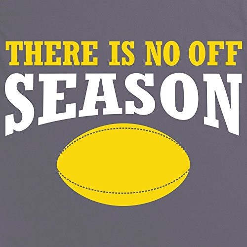 There Is No Off Season T-Shirt, Damen Anthrazit
