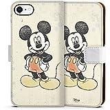 Apple iPhone 8 Tasche Hülle Flip Case Disney Mickey Mouse Merchandise Geschenke