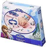 Totum Disney Frozen Die Eiskönigin Bastel-Set Glitter-Armbänder für Mädchen (Kreativ-Set für 2 glitzernde Armbänder)