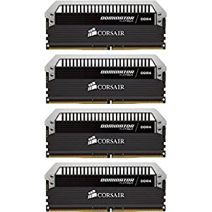 Corsair Dominator Platinum DDR4 16 GB (4 x 4 GB) 3200 MHz C16 XMP 2.0 Enthusiast Desktop Memory Kit