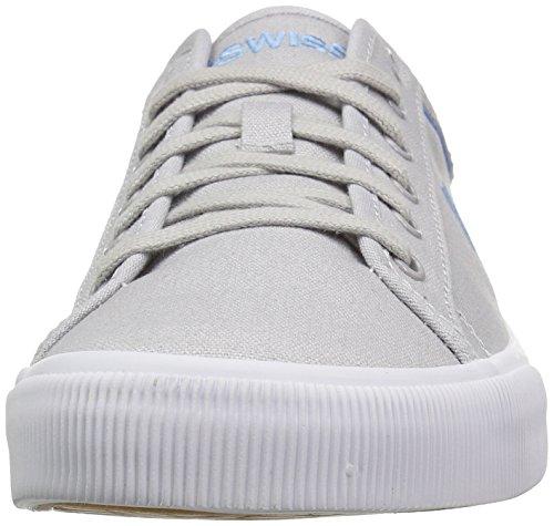 K-Swiss  Bridgeport,  Herren Sneaker Low-Tops Grau/Weiß