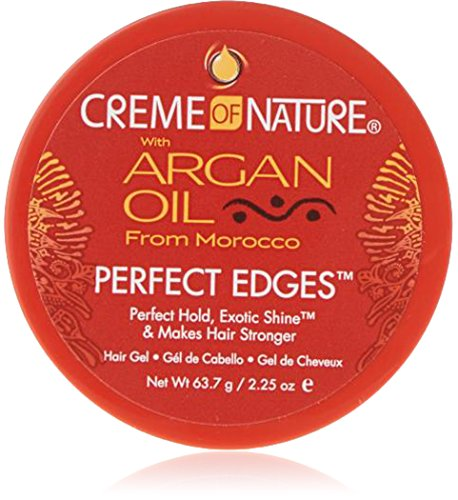 Creme of Nature Argan Oil Perfect Edges Control 64g Jar [Personal Care] (Frisier-Cremes & Wachs) (Natur Gel Shampoo)