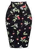 Grace Karin® Women's Vintage Retro Hips-Wrapped Skirt Bodycon - Grace Karin Retro Dress - amazon.co.uk
