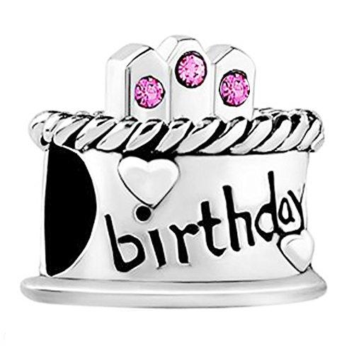 Feliz-tarta-de-cumpleaos-cuenta-para-pulsera--plata-de-ley-925--Pandora-Chamilia-y-Troll