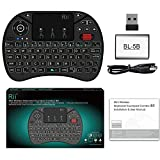 Yaoaofron Rii i8X Mini 2.4G Wireless Keyboard Touchpad Combo with Backlight Scroll Wheel Multimedia Fly Mouse for PC for Smart TV Box