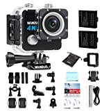 Action Cam, WiMiUS L1 4K Action Sport Camera HD 20MP WIFI, Fotocamera