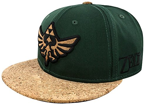 The Legend Of Zelda Triforce Logo mit Kork Snapback-Cap Mehrfarbig