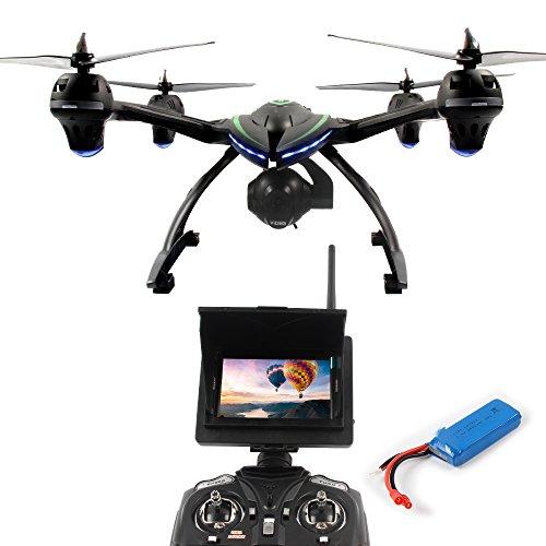 Dazhong Quadcopter Drone con 506G monitor de transmisión en tiempo real de...