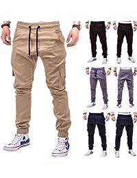 Amazon.it: jeans uomo tasche laterali Pantaloni sportivi