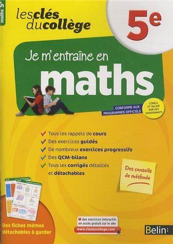 Cls du collge - Maths 5e
