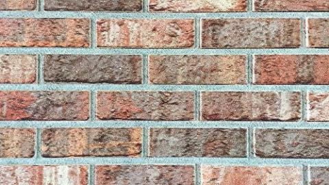 Wandverkleidung in Steinoptik als Wandstein für Ihre Wand I Styroporpaneele/Wandpaneele mit richtiger Steinoberfläche 120cm x 50cm x 2cm I Trendline Modern 5415