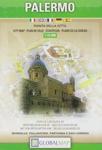 Palermo. Pianta della città 1:10.000