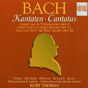 Kantaten BWV 4, 11, 68