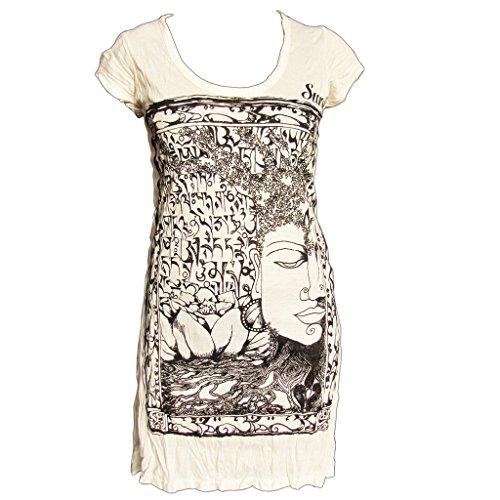 sure-bouddha-sure-robe-tunique-douillette-en-vritable-bwolle-taille-m-blanc-40