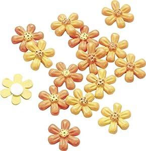 Gütermann / KnorrPrandell 8002750 - Tres de Color de Flores de 2 cm, 15 Piezas / Bolsa Importado de Alemania