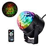 Discokugel Party Disco Licht Musik Lichteffekt für Kinder Geburtstag Christmas Halloween Feier Party Favor Geschenk Spielzeug Zubehör Camping Dj Tanzen Bühne Karaoke Beleuchtung Deko