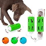 Edupet 06020AB Hundespielzeug, Dog'n'Roll, Intelligenzspielzeug für Hunde, Leckerli-Spender, 17,5 cm, grün