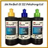 3M-Perfect-it III Triple Polieren & auf Set Kit 3x 250g