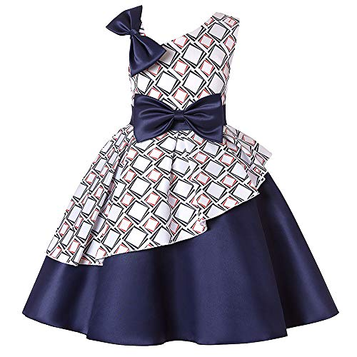d Slant Schulter Kleid Rock Bogen Tutu Halloween Fancy Party Kleid Cosplay Kostüme Luxus (Größe : 3T) ()