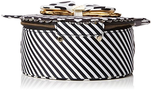 Irregular Choice Womens Oh My! Bag Top-Handle Bag Black (Black/White)