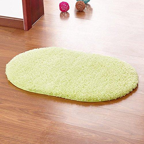 san-bodhir-non-slip-absorbent-home-bathroom-bedroom-door-floor-oval-mat-rug