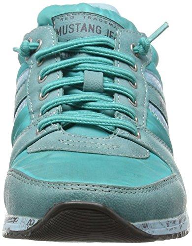 Mustang  1226-401, Sneakers Basses - Femme Turquoise (879 türkis)