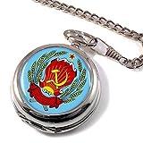 Russo Soviet РоссийскаяСоветская Orologio da tasca CACCIATORE
