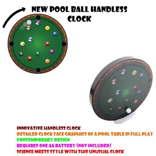 Nuovo orologio della piscina senza mani