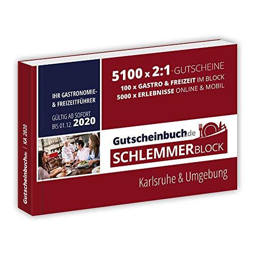 Gutscheinbuch.de Schlemmerblock Karlsruhe & Umgebung 2020