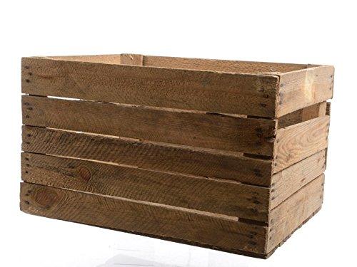 Große, rustikale Holzkiste / Obstkiste im Vintage-Design (Holz-shadow Box Rustikale)