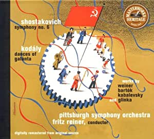 Shostakovich: Symphonie No 6  Coll. Masterworks Héritage [Import anglais]