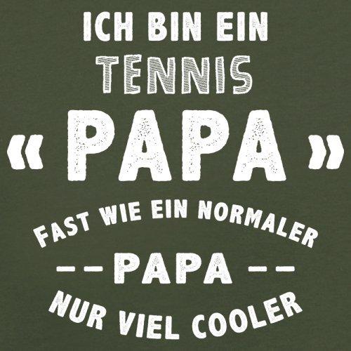 Ich bin ein Tennis Papa - Herren T-Shirt - 13 Farben Olivgrün