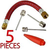 Pompe à aiguilles de gonflage–Ensemble avec tuyau et Nozzel, 1 Set