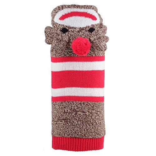 der Affe, Hoodie, Rot, XXS (Socke Affe Kostüm Amazon)