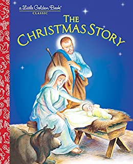 The Christmas Story Book.The Christmas Story Little Golden Book