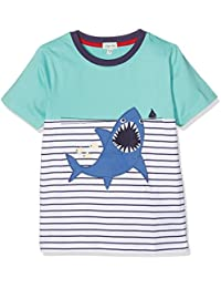 Lilly and Sid Jungen T-Shirt Cut N Sew Applique T-Shark