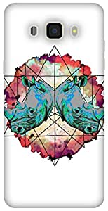 The Racoon Horny Diamonds hard plastic printed back Case for Samsung Galaxy J7 (2016)