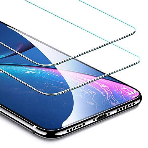 ESR Protector Pantalla iPhone XR [2 Piezas][Fácil