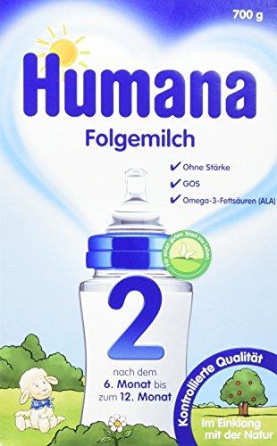 Humana Folgemilch 2 mit GOS, 700 g