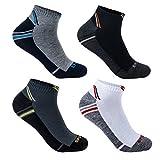 L&K 12 Paar Herren Sneaker Socken aus Bambus antibakteriell 92231