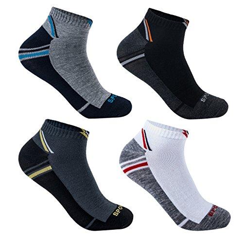 12 Paar Herren Sneaker Socken aus Bambus antibakteriell 92231 43-46 (Bambus Herren-socken)