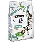 Purina Cat Chow esterilizado Chat Adulte Poulet 4x 3kg