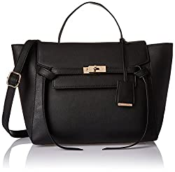 Diana Korr Womens Handbag (Black) (DK90HBLK)