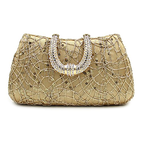 SSMK Evening Bag, Poschette giorno donna Gold