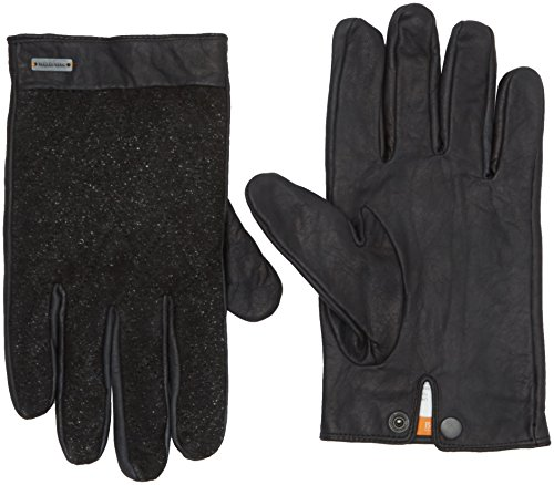 BOSS Orange Herren Handschuhe Galop, Schwarz (Black 001), 9