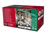 LED Acryl Sternen Lichtervorhang für Innen 5er-Set 30 warm weiße Dioden