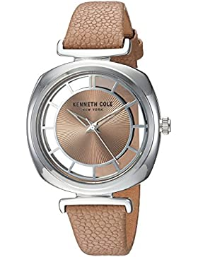 Kenneth Cole New York Damen Uhr Armbanduhr Leder KC15108005
