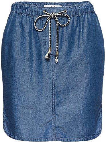 FIND Denim, Falda para Mujer, Azul (Dark Indigo), Medium