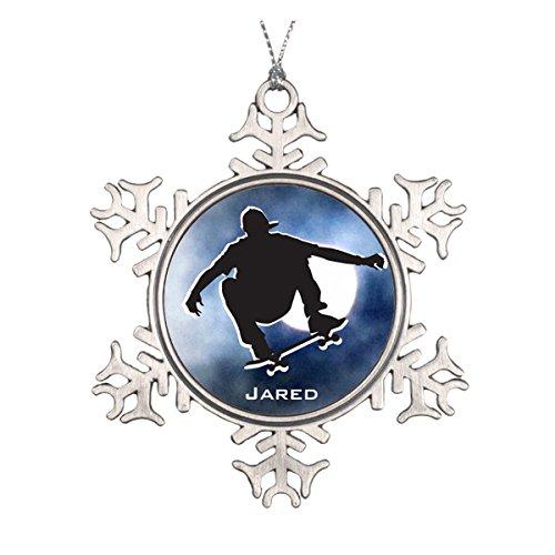 Daily Lady Shadow vorgezeichnet Skaten Ornament