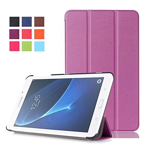 custodia tablet samsung 7 pollici DETUOSI Samsung T280/Tab A 7.0 Custodia in Pelle